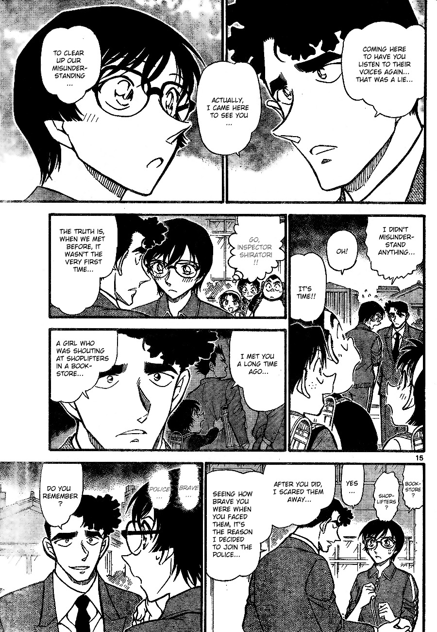 Detective Conan Chapter 707  Online Free Manga Read Image 15