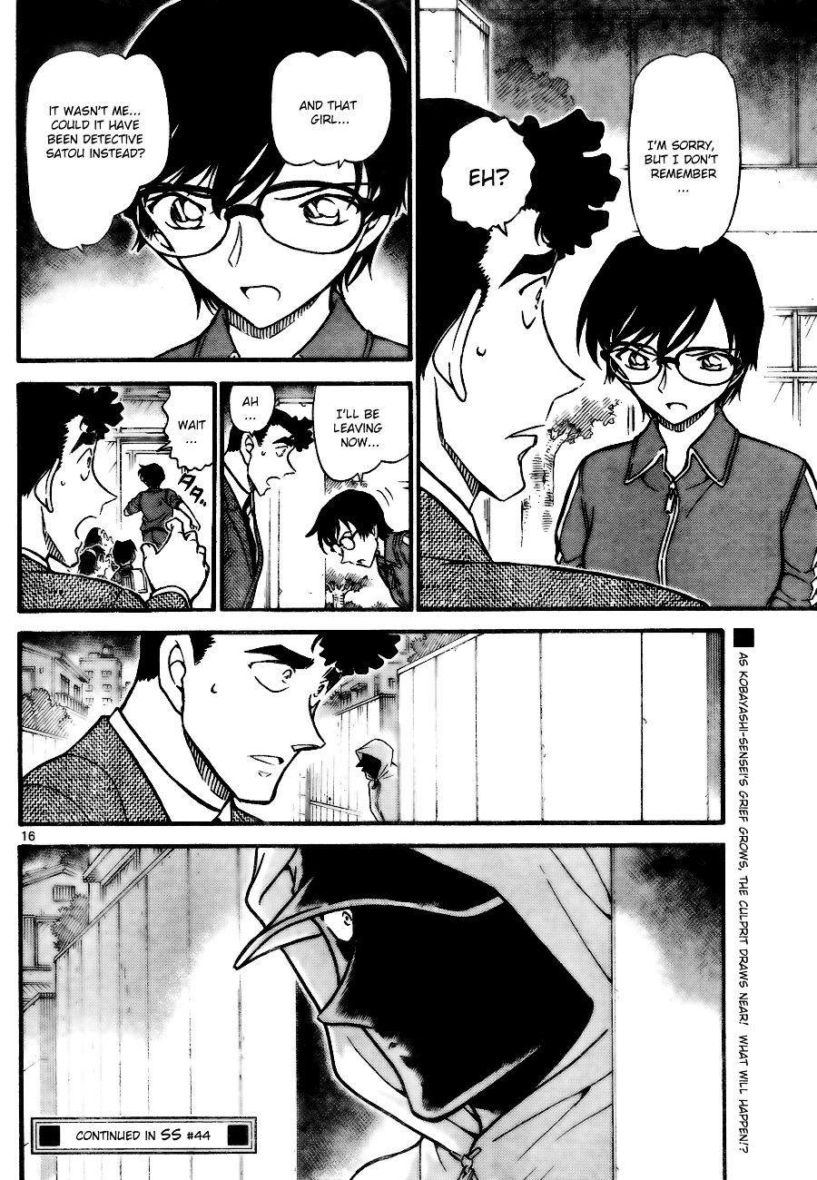 Detective Conan Chapter 707  Online Free Manga Read Image 16