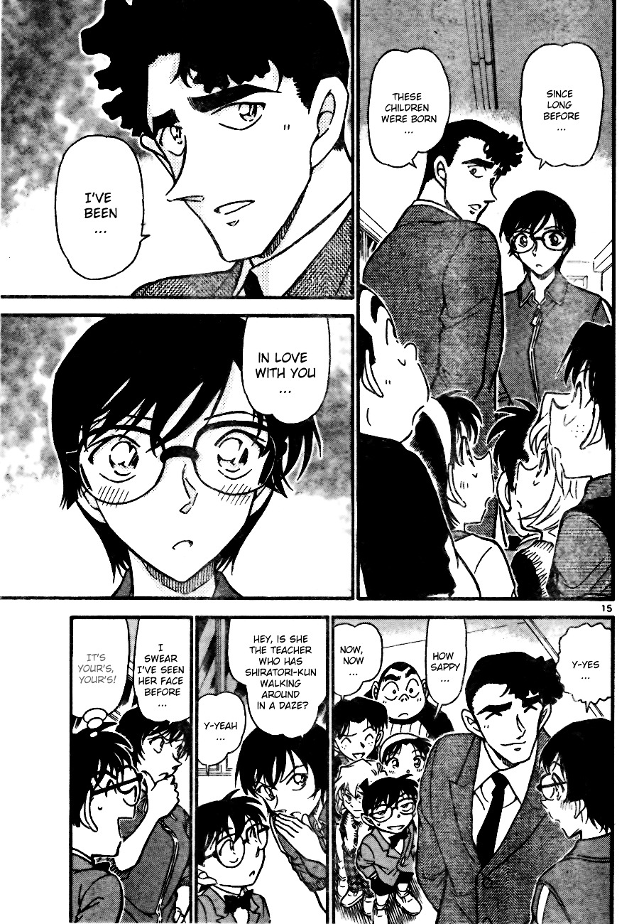Detective Conan Chapter 708  Online Free Manga Read Image 15