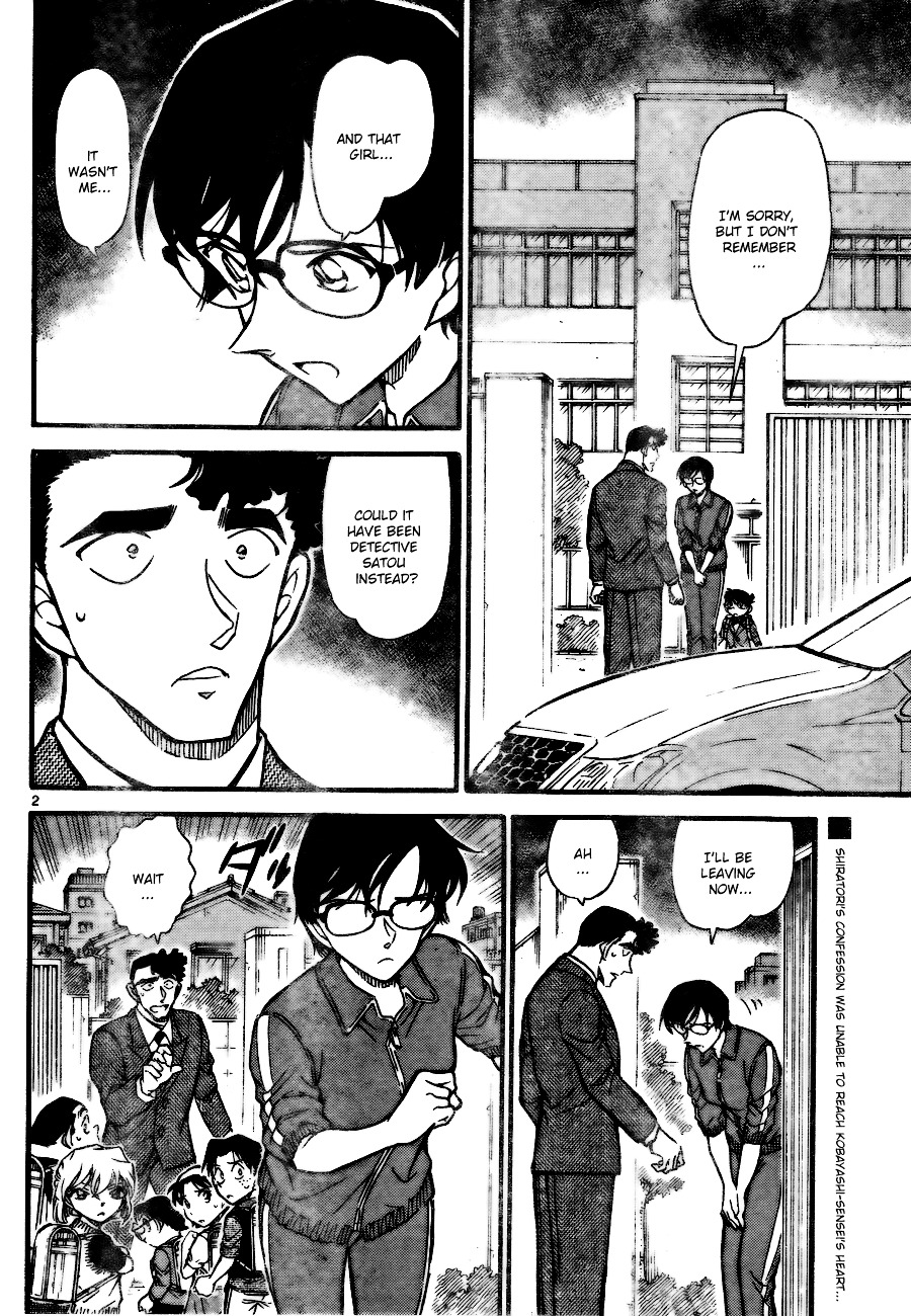 Detective Conan Chapter 708  Online Free Manga Read Image 2