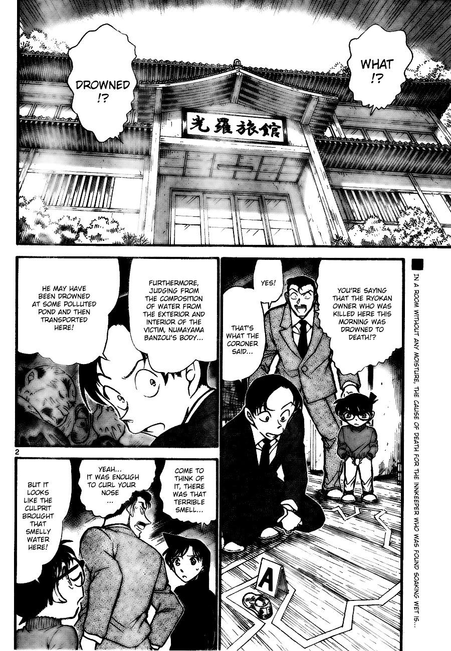 Detective Conan Chapter 720  Online Free Manga Read Image 2