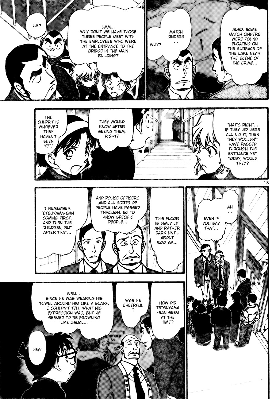 Detective Conan Chapter 723  Online Free Manga Read Image 13