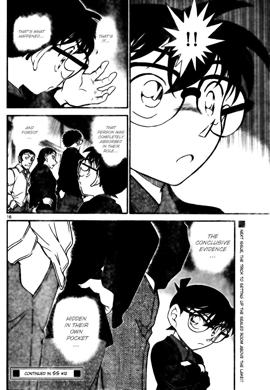Detective Conan Chapter 723  Online Free Manga Read Image 16