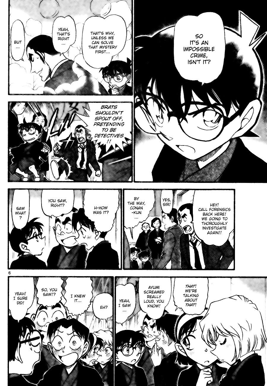 Detective Conan Chapter 723  Online Free Manga Read Image 6