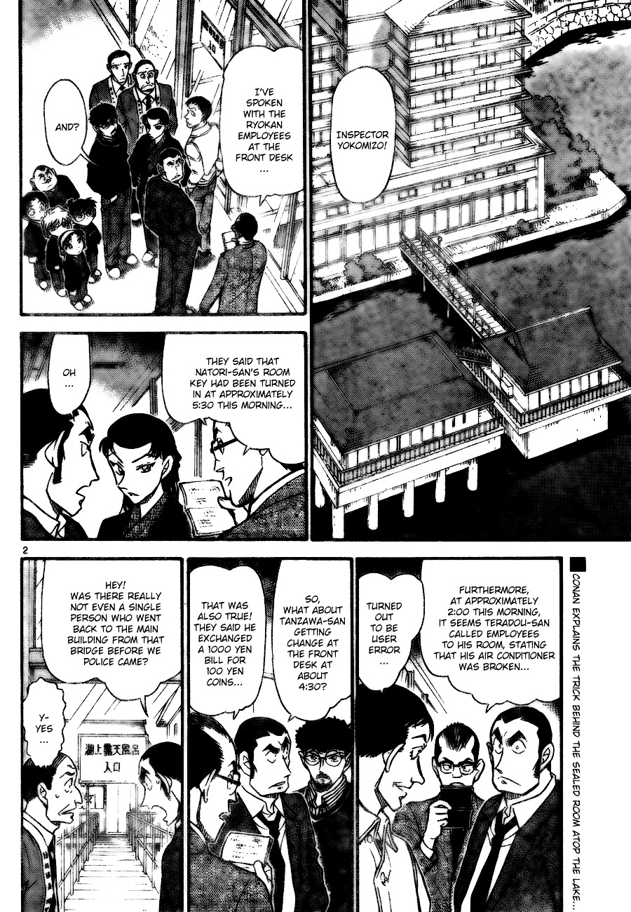 Detective Conan Chapter 724  Online Free Manga Read Image 2
