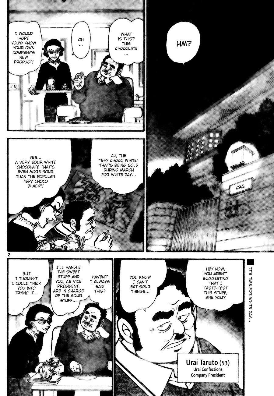 Detective Conan Chapter 725  Online Free Manga Read Image 2