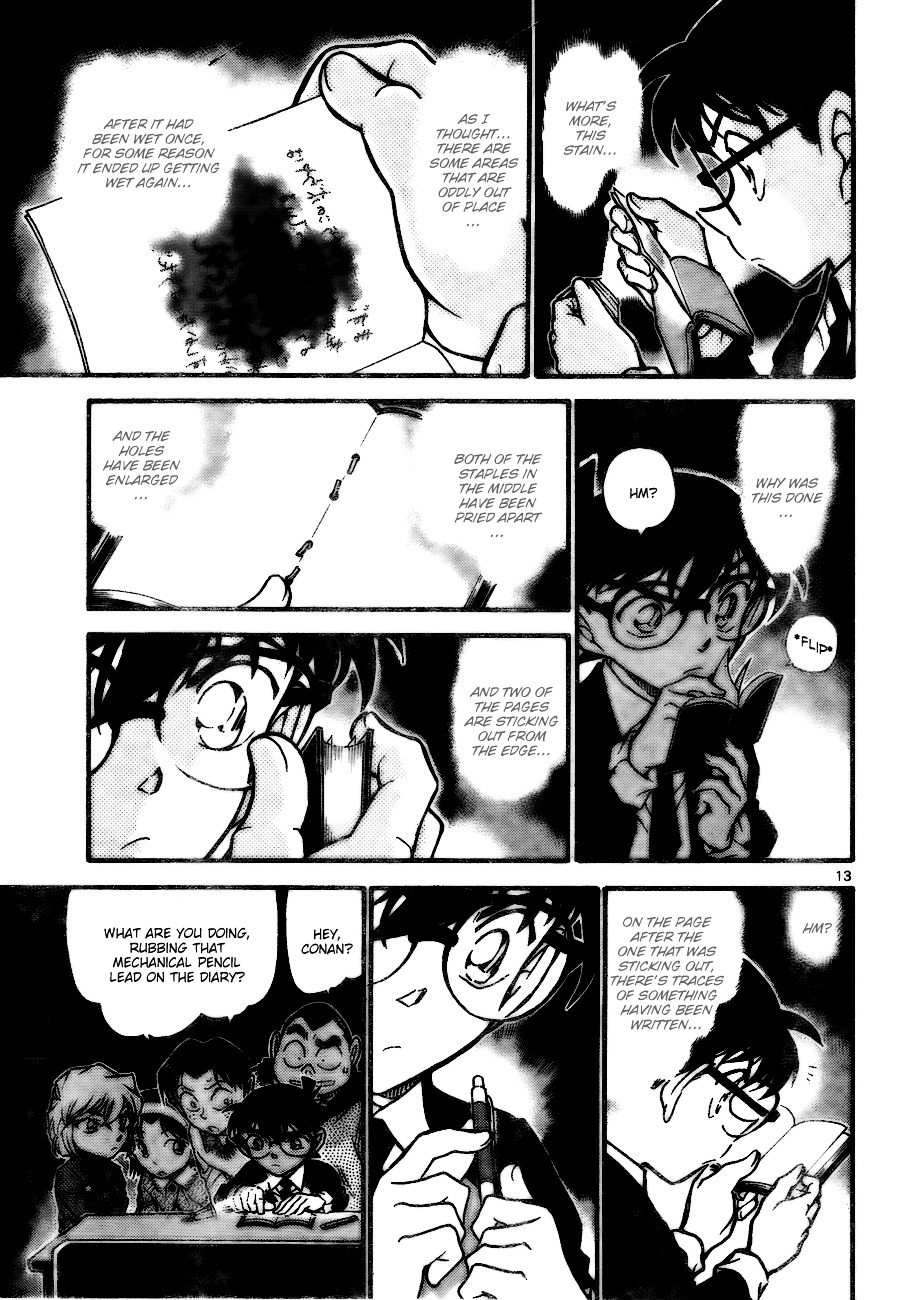 Detective Conan Chapter 729  Online Free Manga Read Image 13
