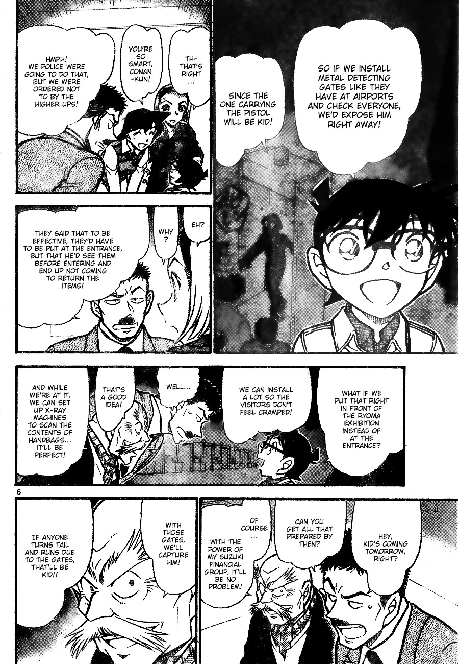 Detective Conan Chapter 732  Online Free Manga Read Image 6