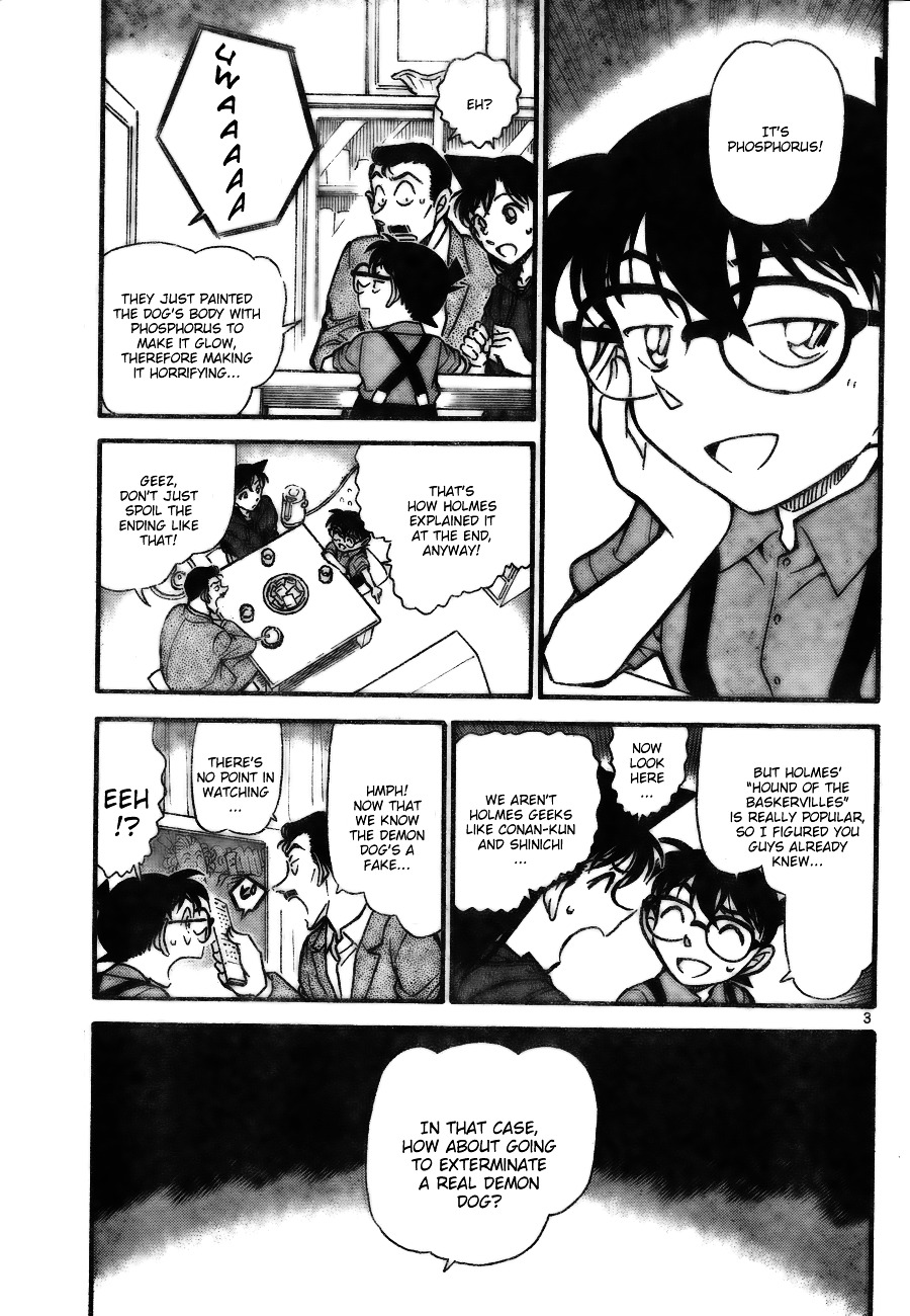 Detective Conan Chapter 734  Online Free Manga Read Image 3