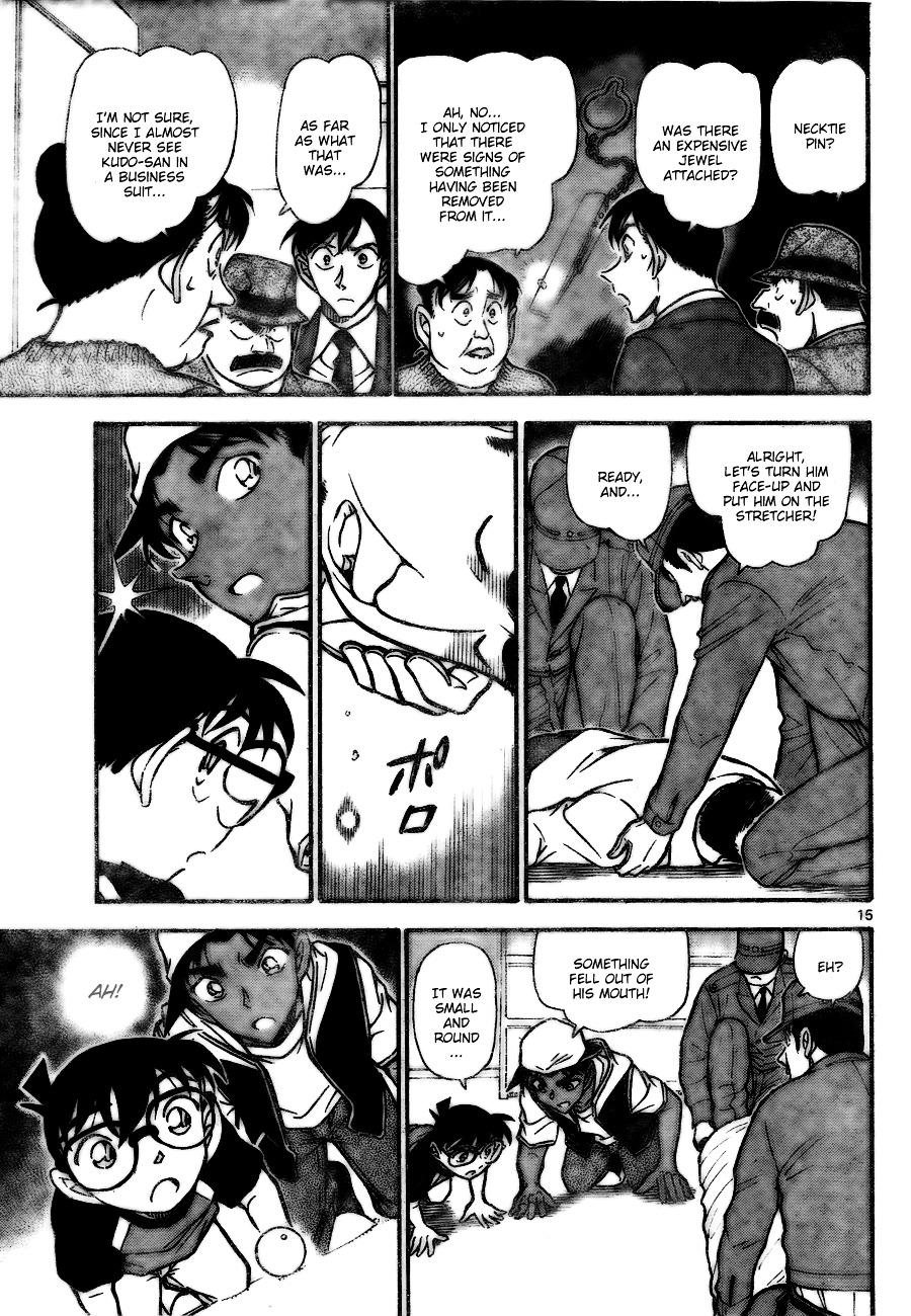 Detective Conan Chapter 735  Online Free Manga Read Image 15