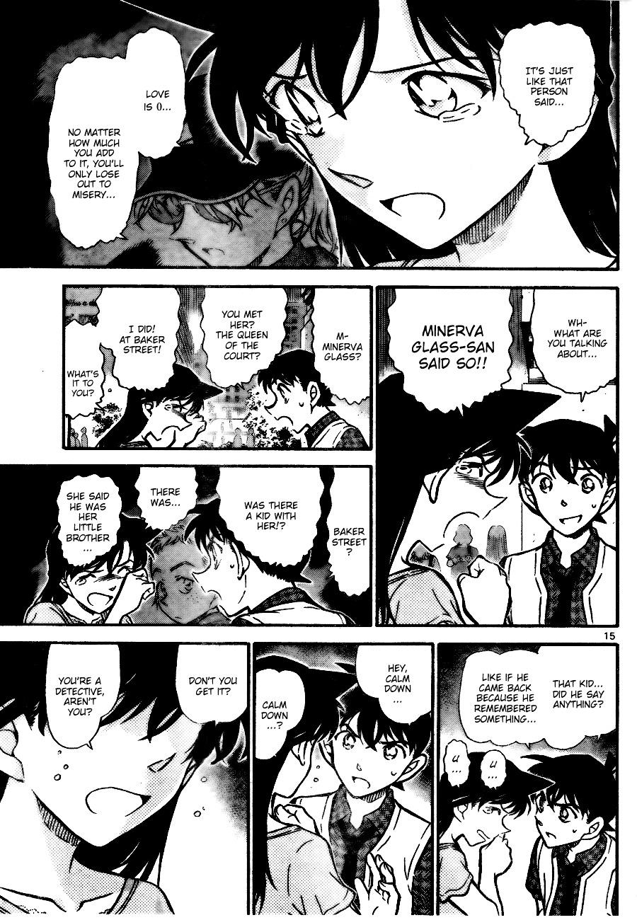 Detective Conan Chapter 745  Online Free Manga Read Image 15