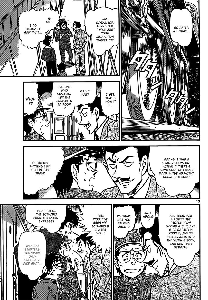 Detective Conan Chapter 820  Online Free Manga Read Image 13