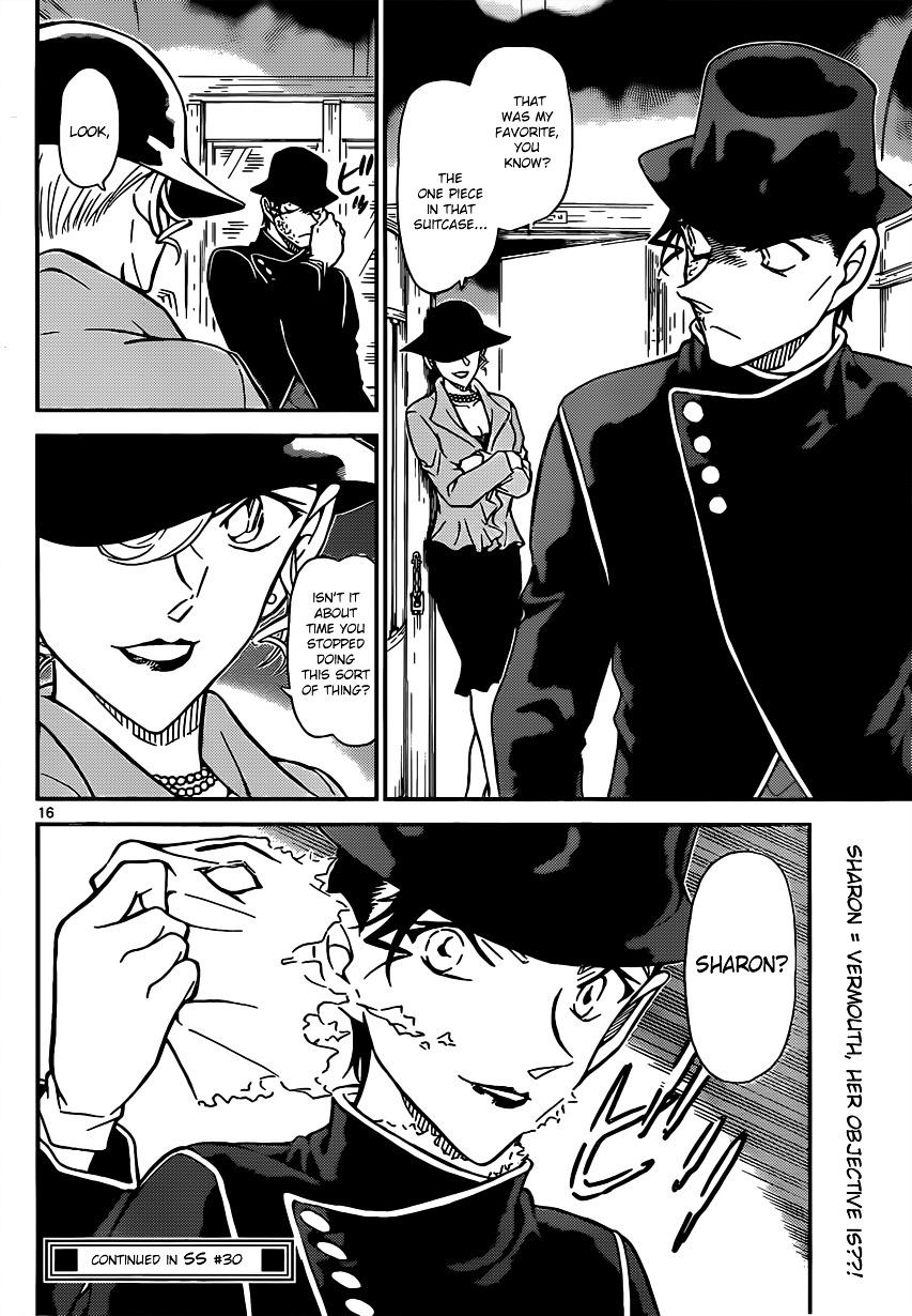 Detective Conan Chapter 822  Online Free Manga Read Image 16