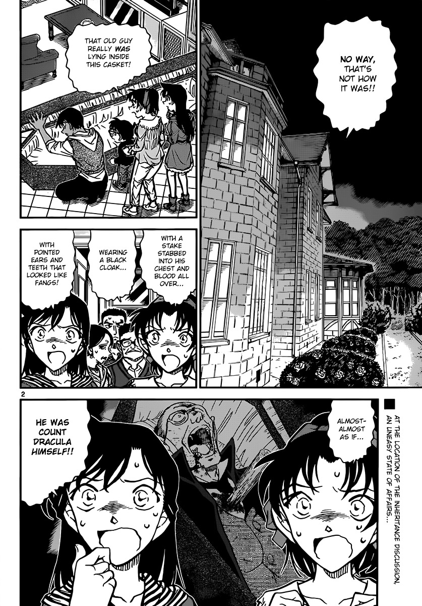 Detective Conan Chapter 835  Online Free Manga Read Image 2