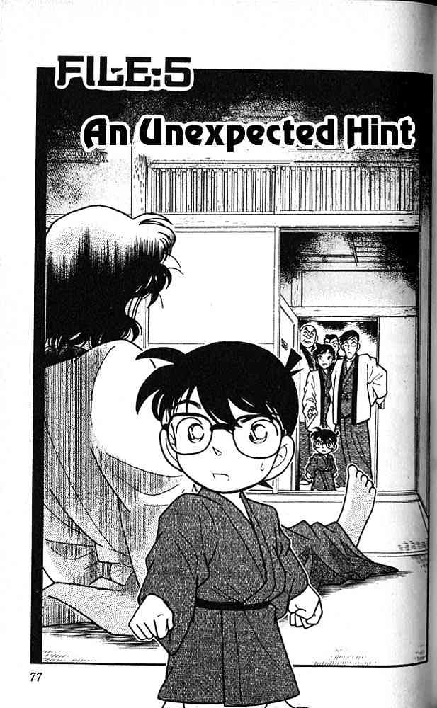 Detective Conan Chapter 85  Online Free Manga Read Image 1