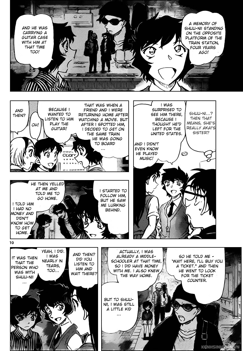 Detective Conan Chapter 937  Online Free Manga Read Image 10