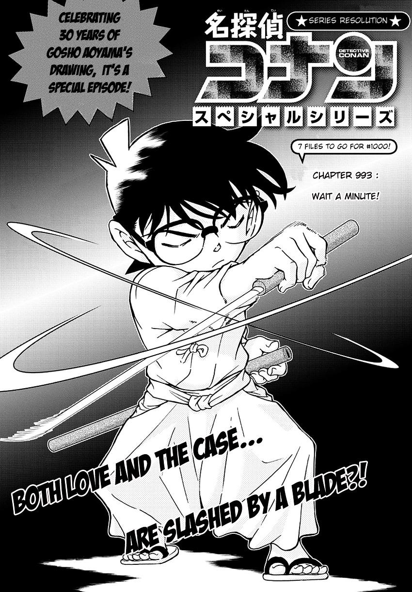 Detective Conan Chapter 993  Online Free Manga Read Image 2