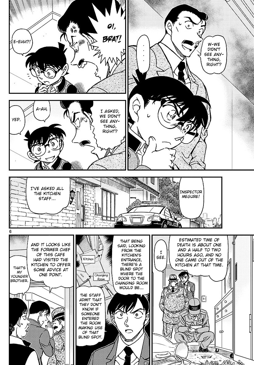 Detective Conan Chapter 995  Online Free Manga Read Image 9