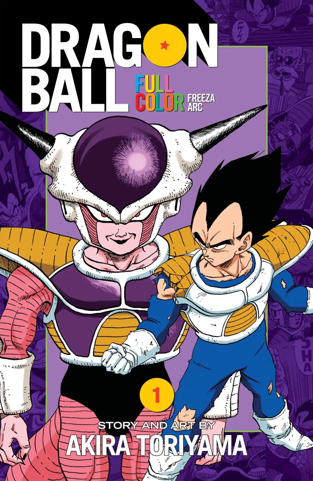 Dragon Ball Full Color Freeza Arc Chapter 1  Online Free Manga Read Image 1