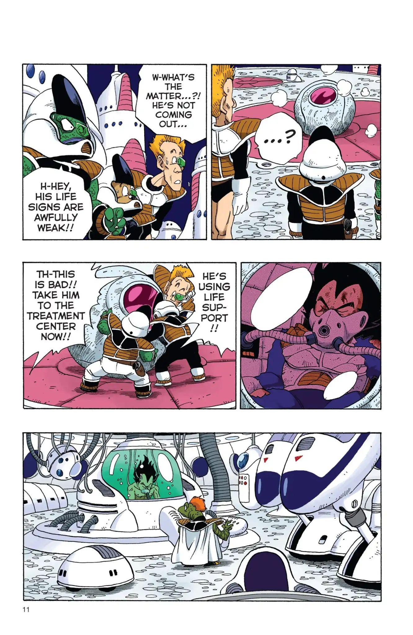 Dragon Ball Full Color Freeza Arc Chapter 1  Online Free Manga Read Image 12