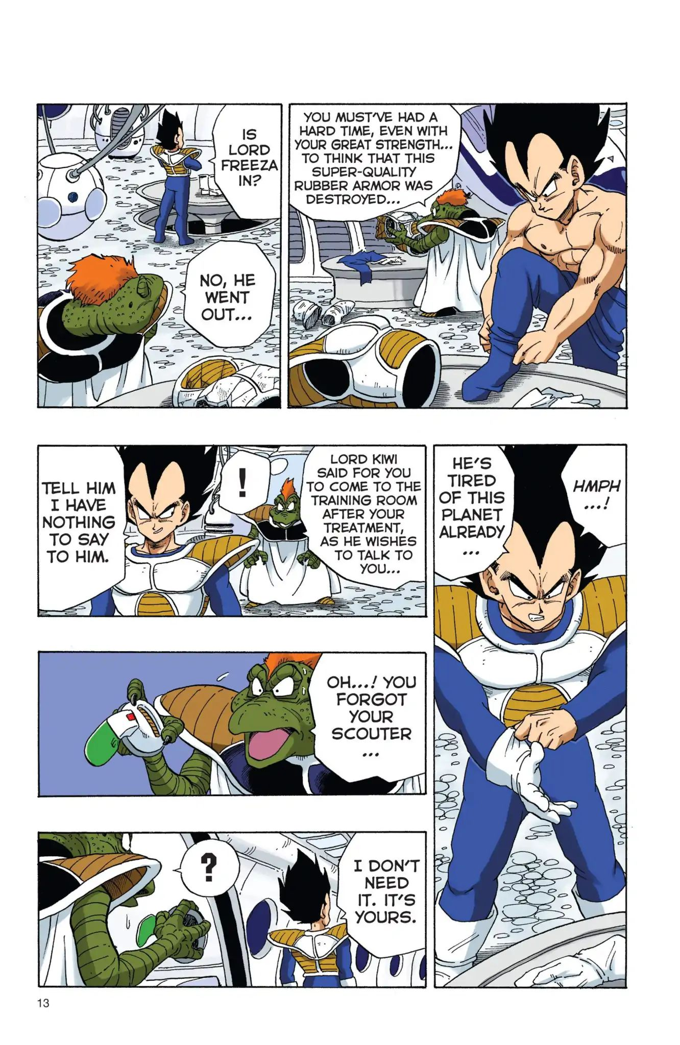 Dragon Ball Full Color Freeza Arc Chapter 1  Online Free Manga Read Image 14