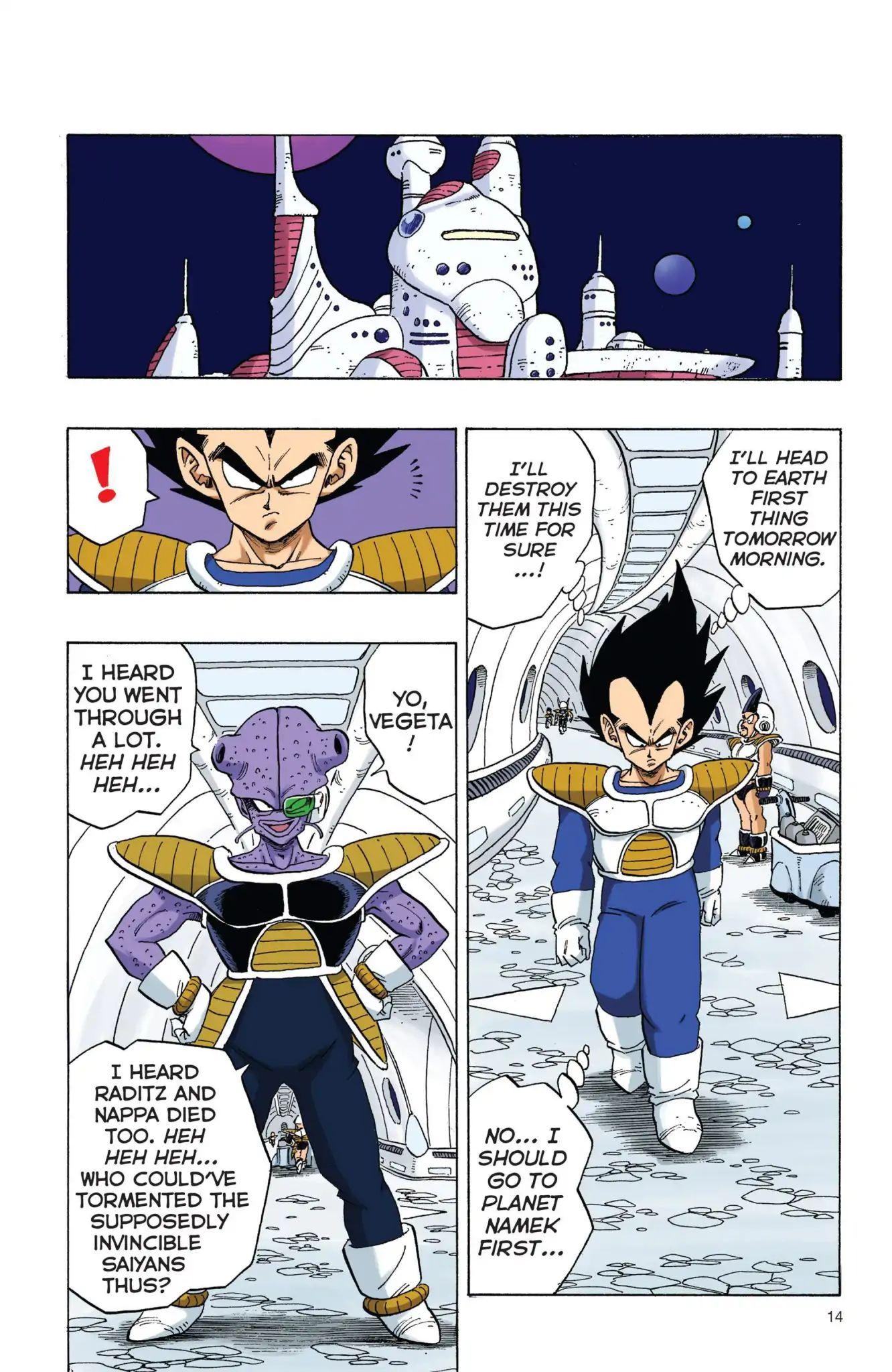 Dragon Ball Full Color Freeza Arc Chapter 1  Online Free Manga Read Image 15