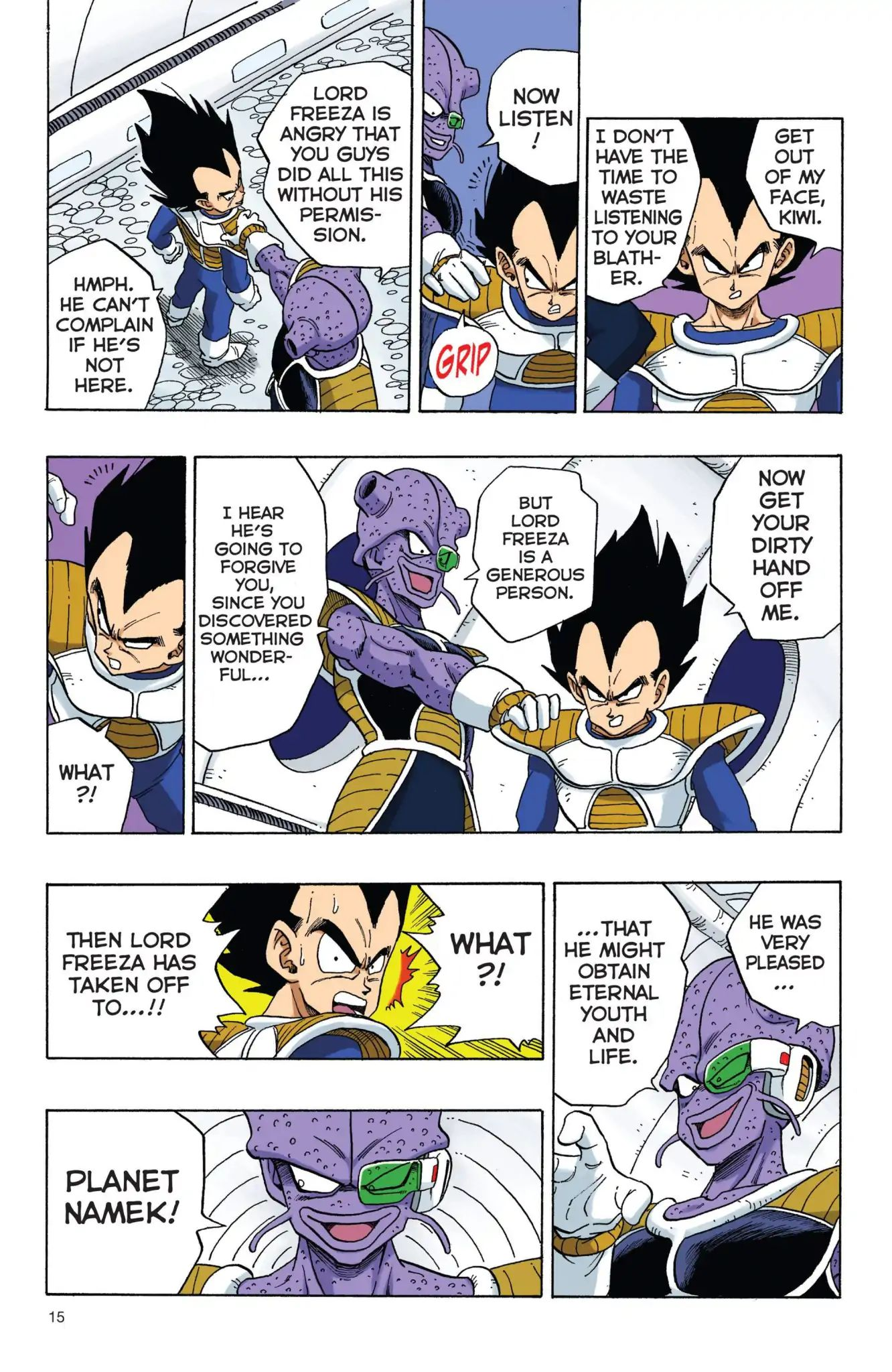 Dragon Ball Full Color Freeza Arc Chapter 1  Online Free Manga Read Image 16