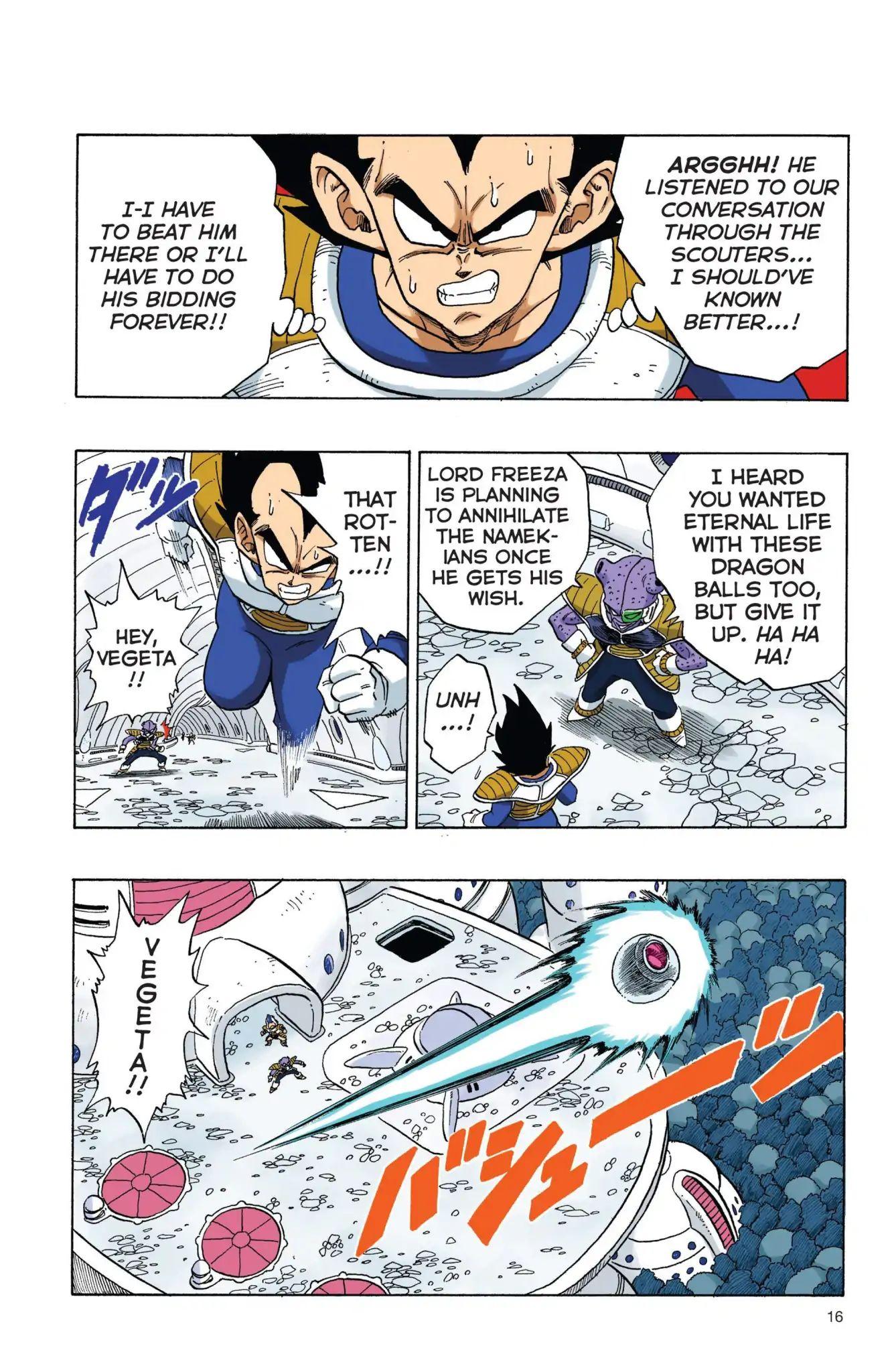 Dragon Ball Full Color Freeza Arc Chapter 1  Online Free Manga Read Image 17