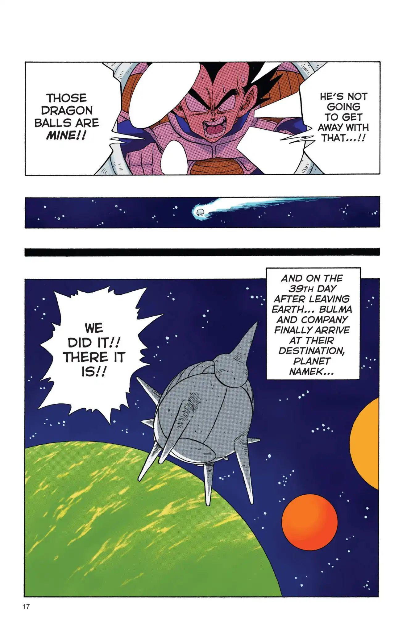 Dragon Ball Full Color Freeza Arc Chapter 1  Online Free Manga Read Image 18