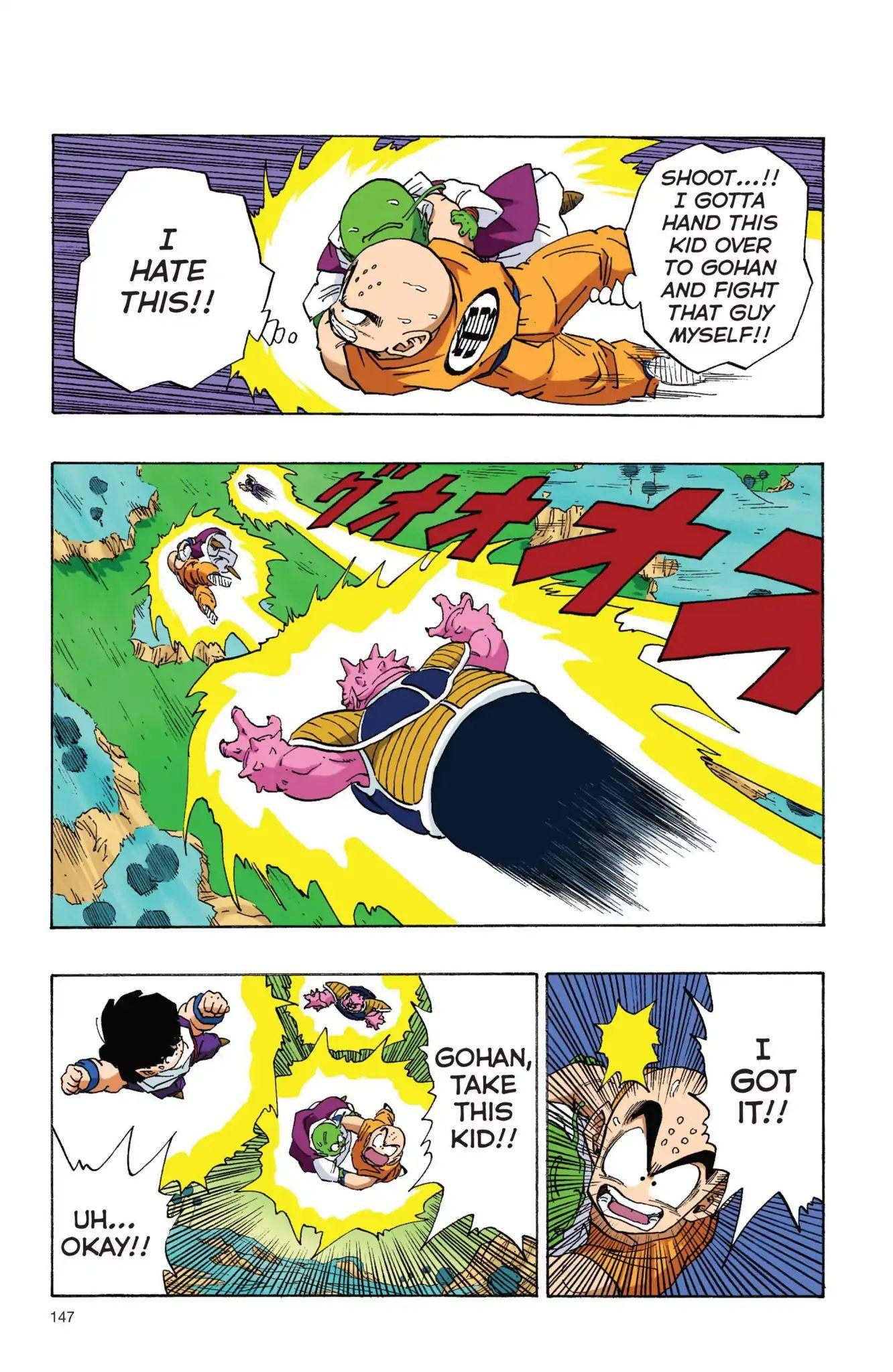 Dragon Ball Full Color Freeza Arc Chapter 11  Online Free Manga Read Image 2