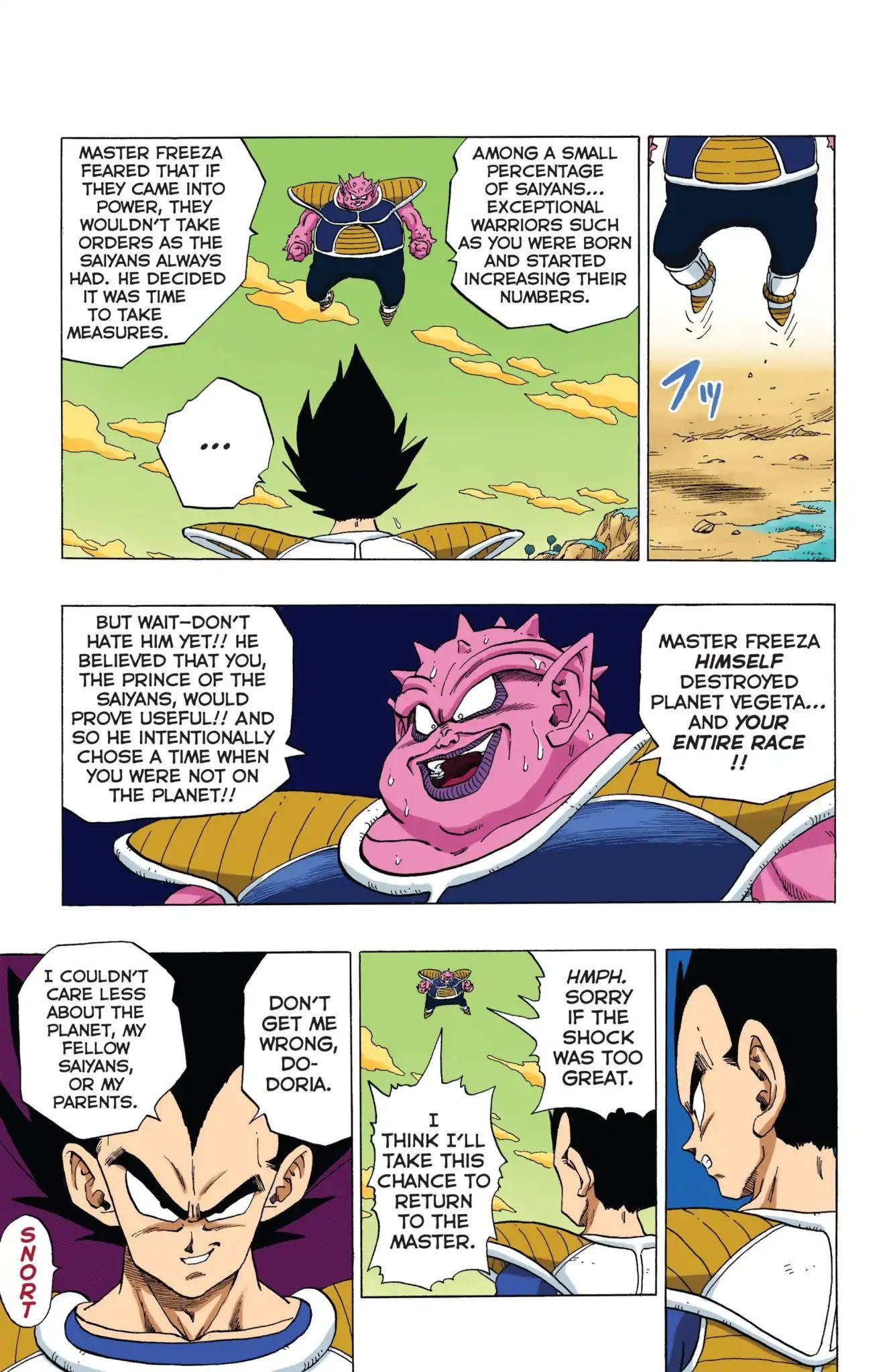 Dragon Ball Full Color Freeza Arc Chapter 12  Online Free Manga Read Image 12
