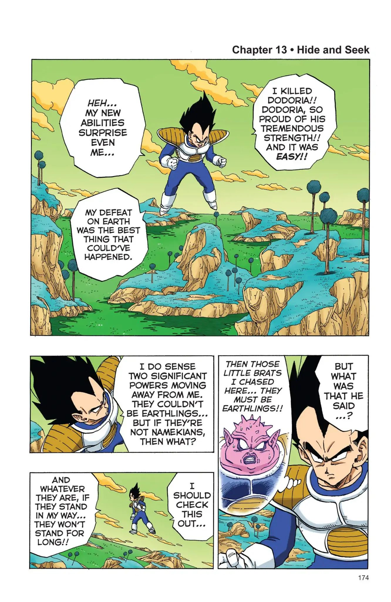 Dragon Ball Full Color Freeza Arc Chapter 13  Online Free Manga Read Image 1