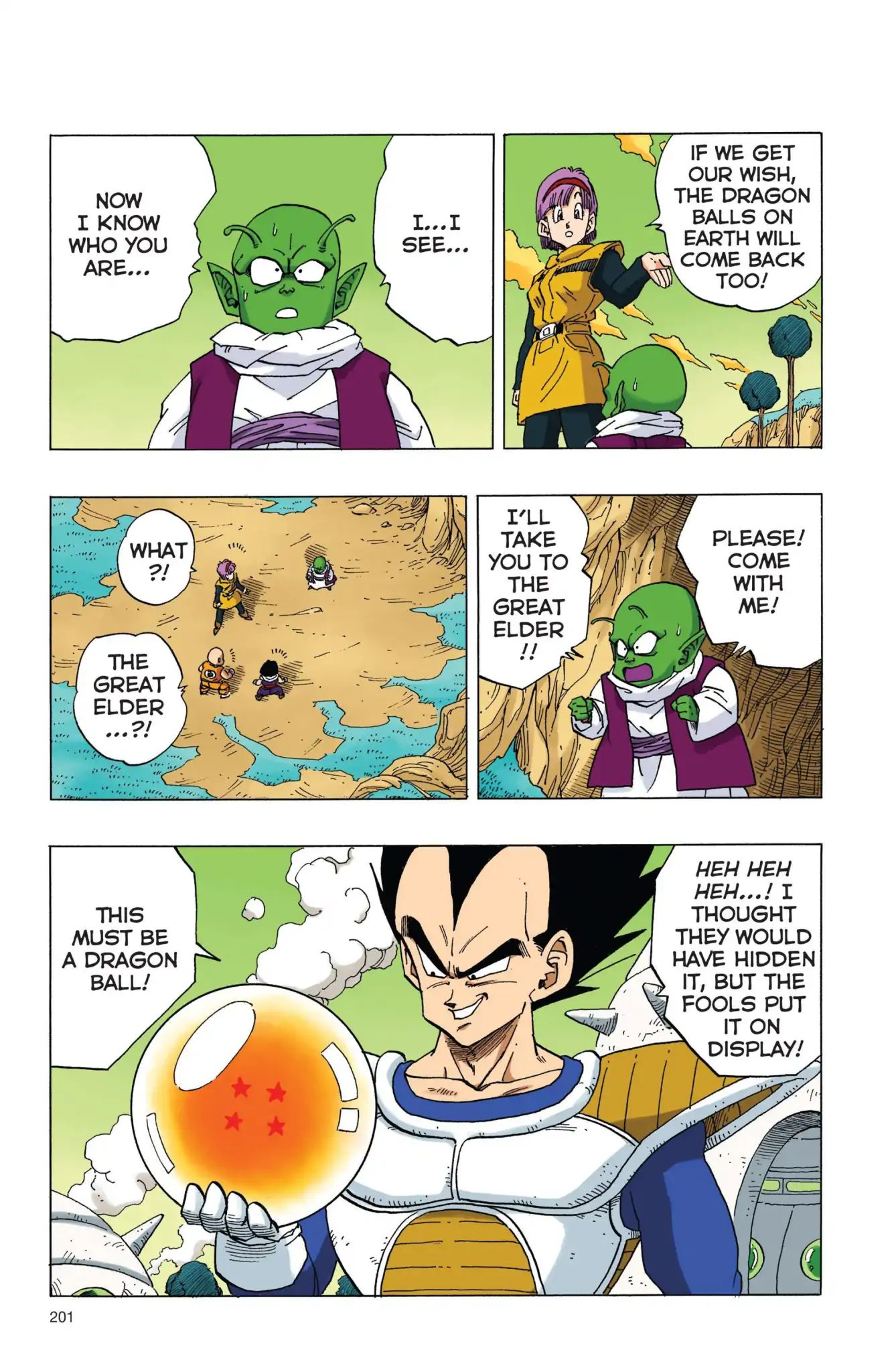 Dragon Ball Full Color Freeza Arc Chapter 14  Online Free Manga Read Image 14