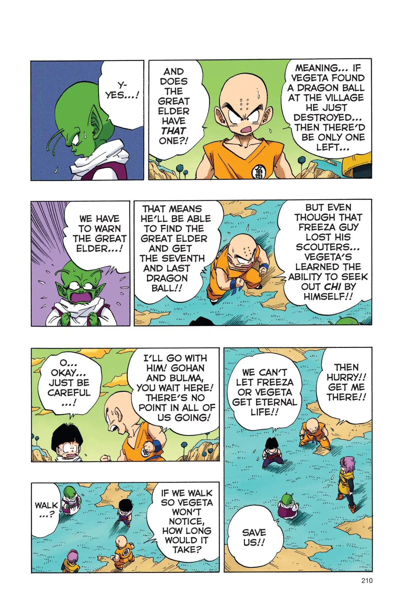 Dragon Ball Full Color Freeza Arc Chapter 15  Online Free Manga Read Image 9