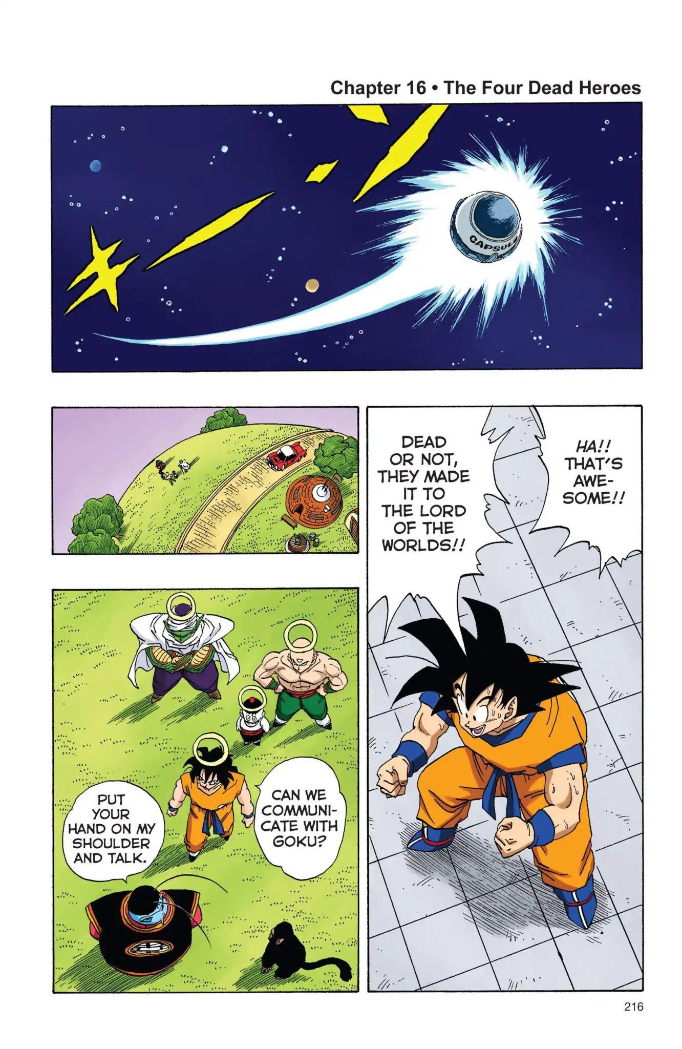 Dragon Ball Full Color Freeza Arc Chapter 16  Online Free Manga Read Image 1