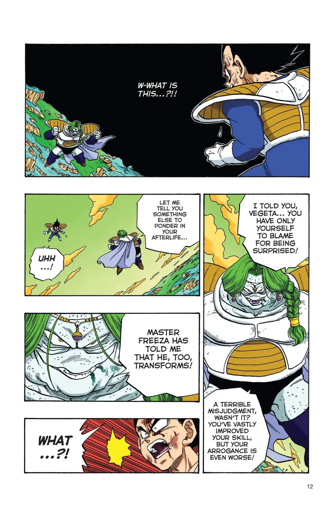 Dragon Ball Full Color Freeza Arc Chapter 18  Online Free Manga Read Image 13
