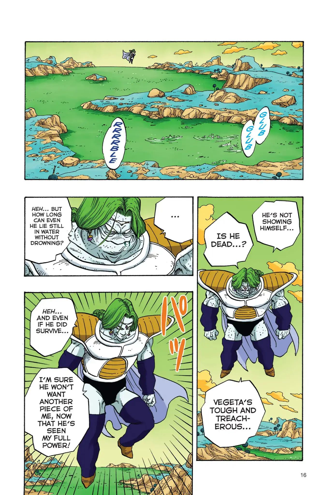 Dragon Ball Full Color Freeza Arc Chapter 18  Online Free Manga Read Image 17