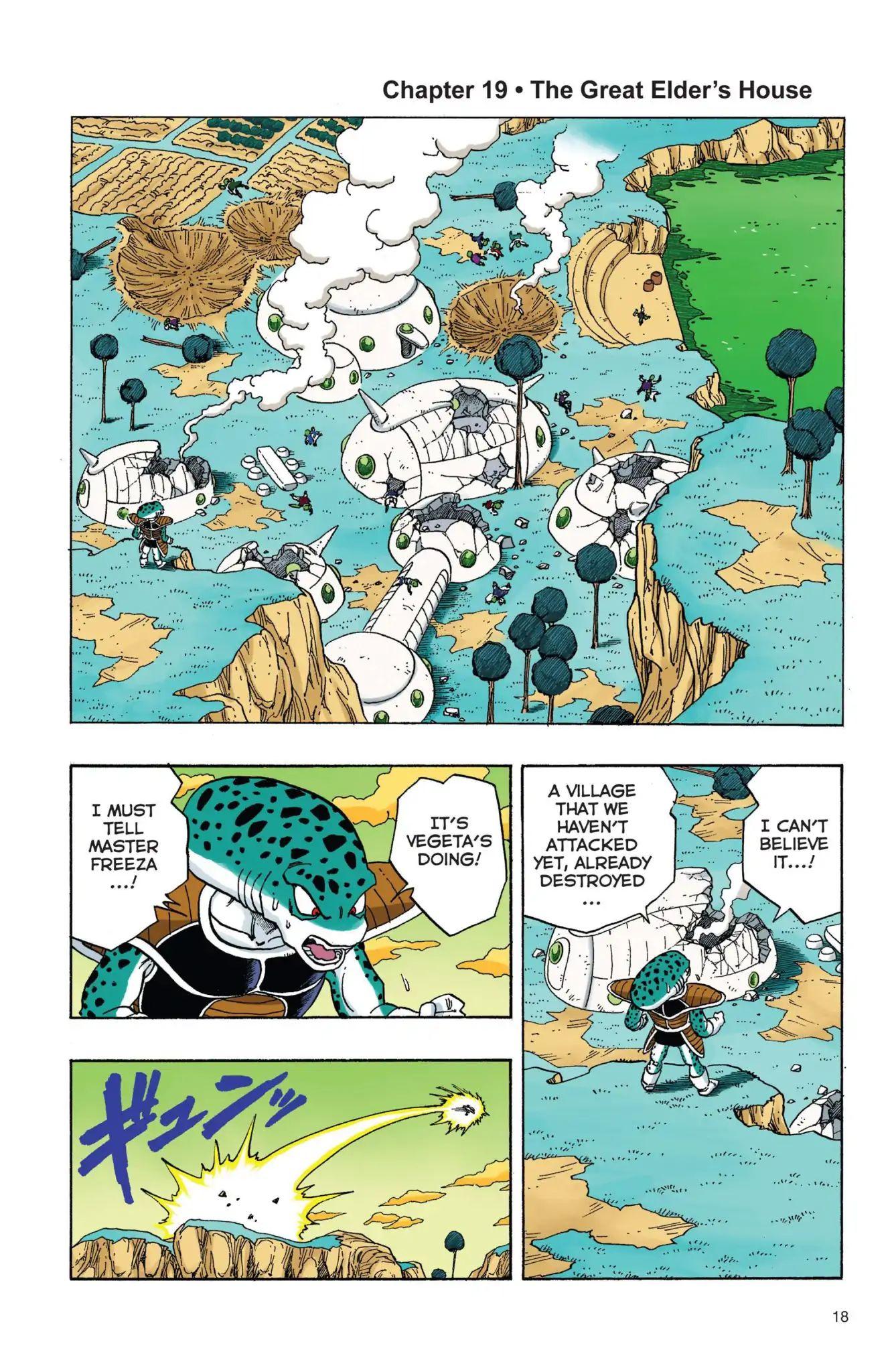 Dragon Ball Full Color Freeza Arc Chapter 19  Online Free Manga Read Image 1