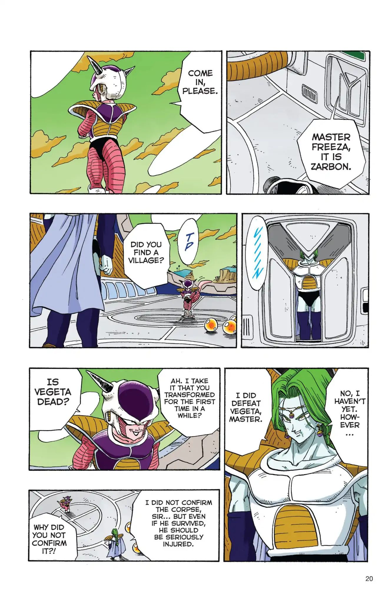 Dragon Ball Full Color Freeza Arc Chapter 19  Online Free Manga Read Image 3