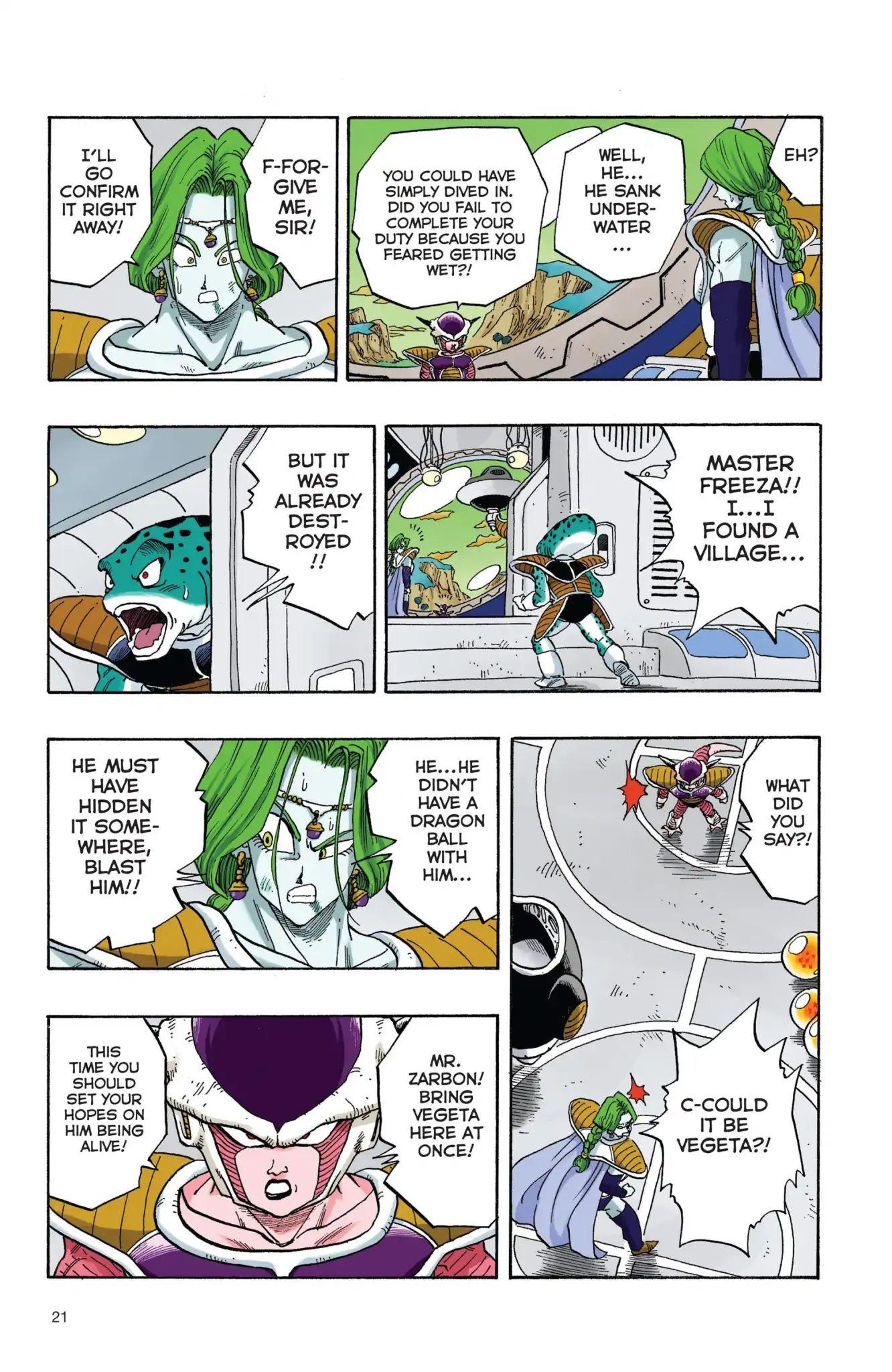 Dragon Ball Full Color Freeza Arc Chapter 19  Online Free Manga Read Image 4