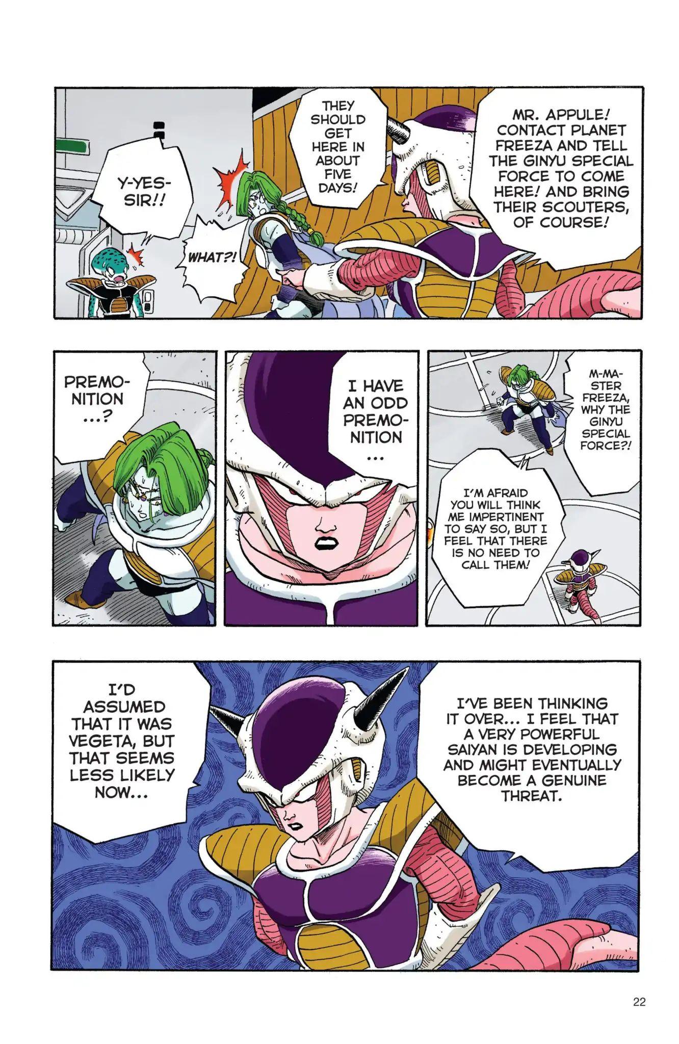Dragon Ball Full Color Freeza Arc Chapter 19  Online Free Manga Read Image 5