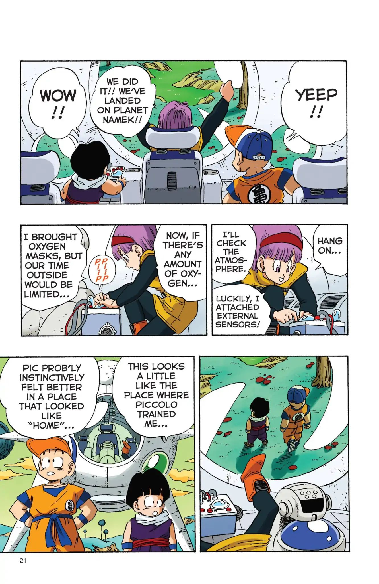 Dragon Ball Full Color Freeza Arc Chapter 2  Online Free Manga Read Image 3