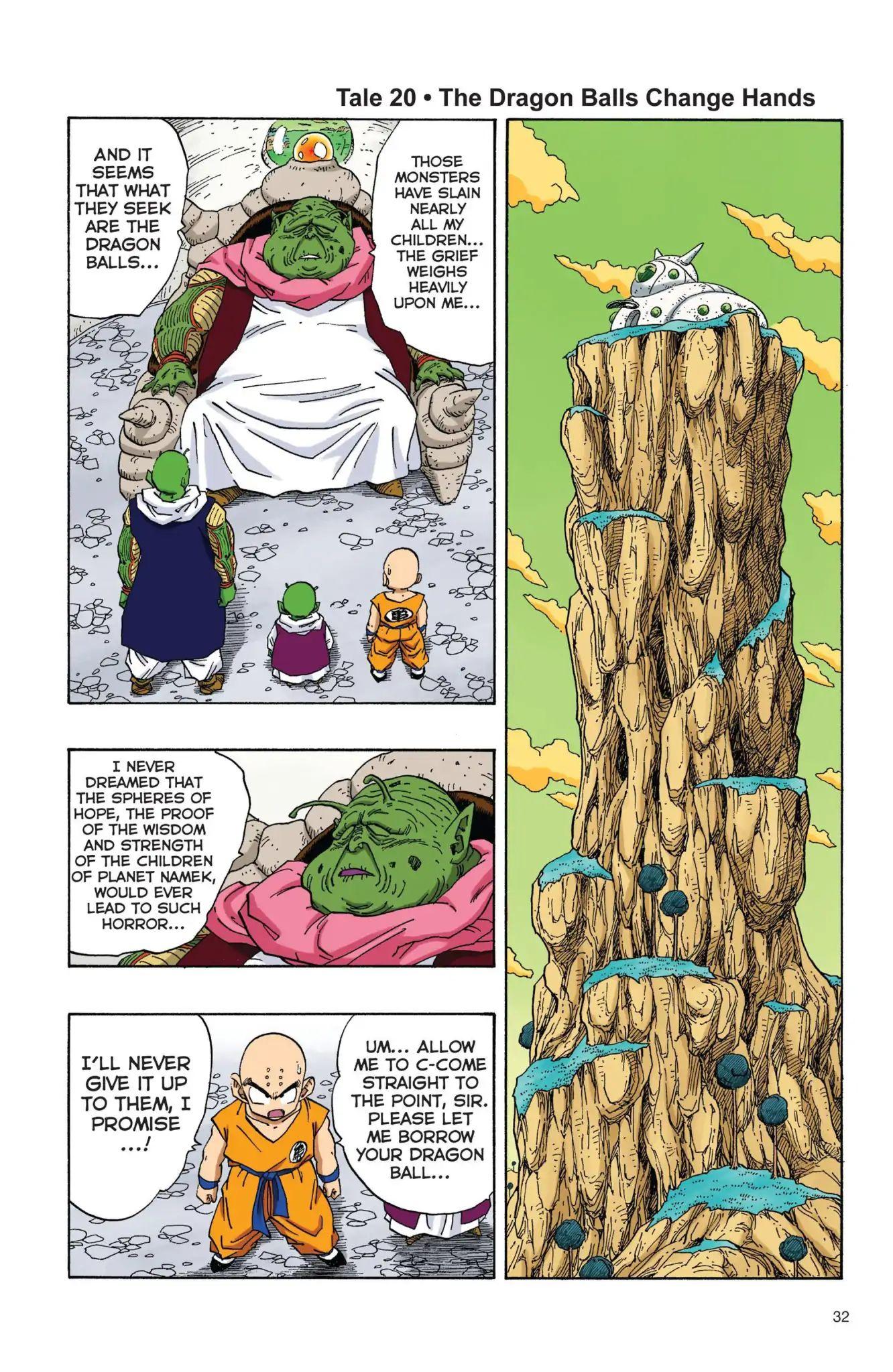 Dragon Ball Full Color Freeza Arc Chapter 20  Online Free Manga Read Image 1