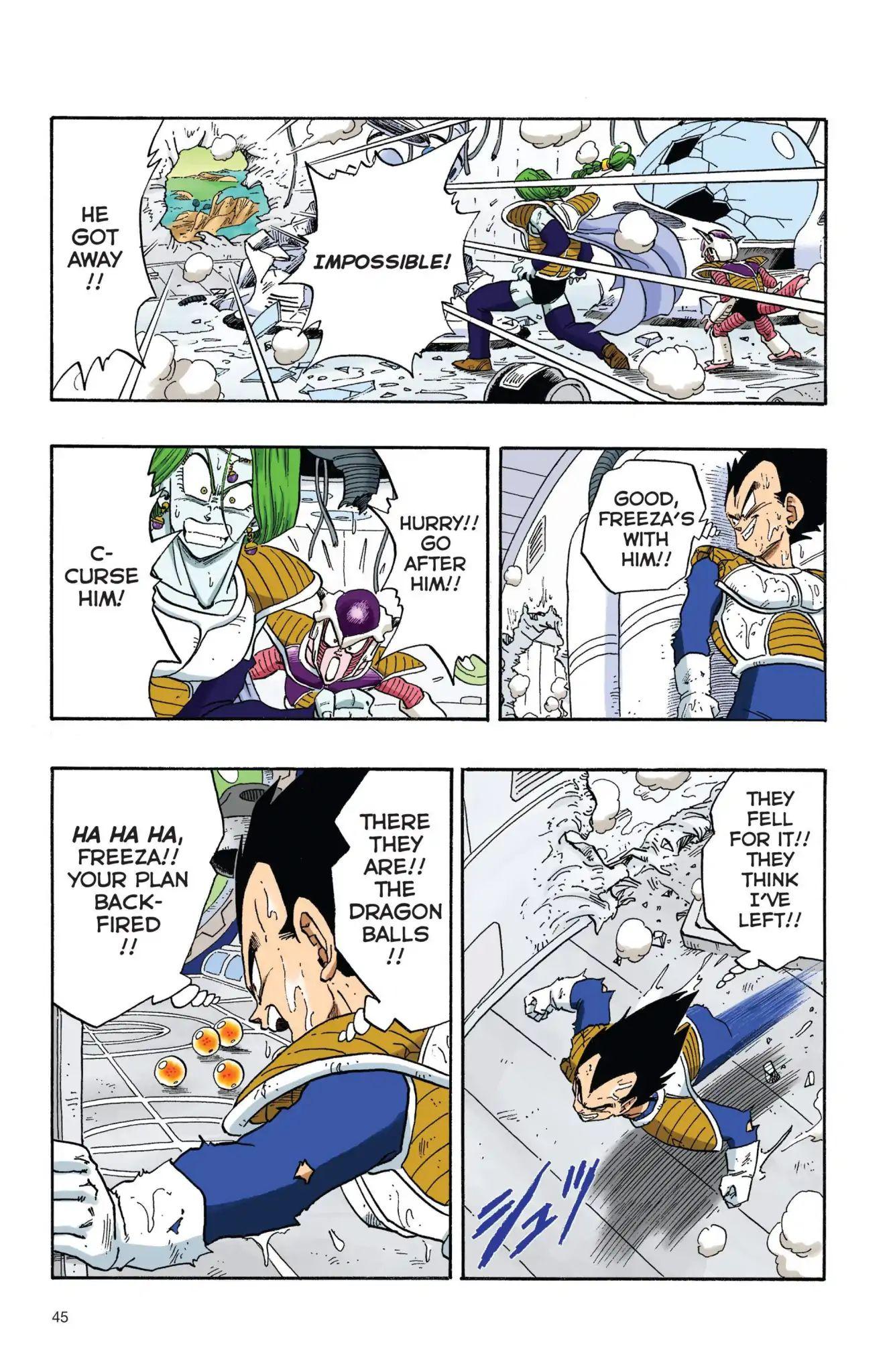 Dragon Ball Full Color Freeza Arc Chapter 20  Online Free Manga Read Image 14