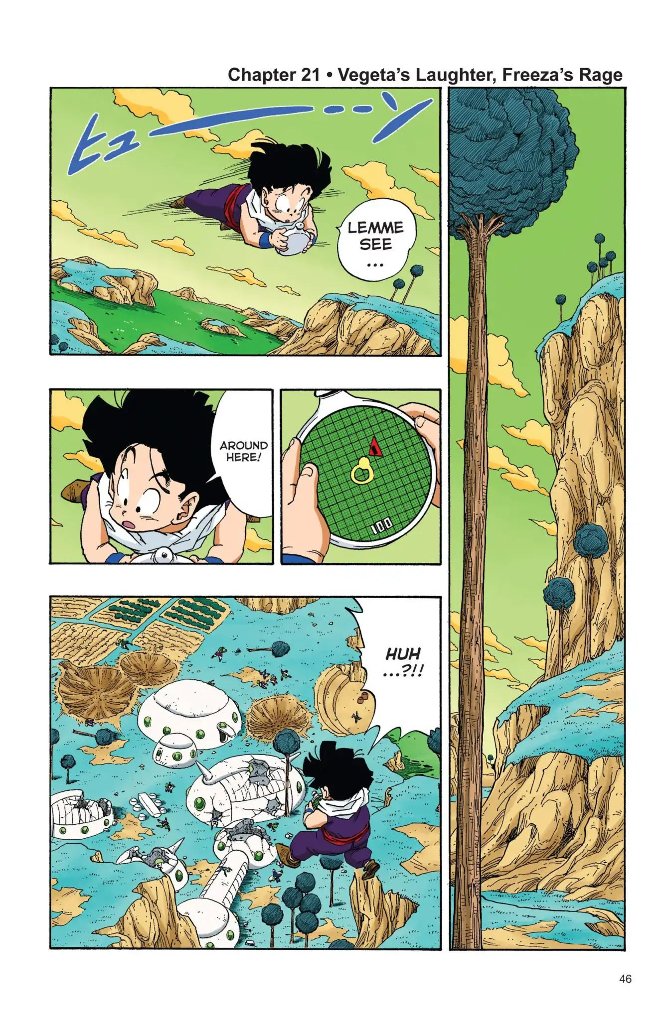 Dragon Ball Full Color Freeza Arc Chapter 21  Online Free Manga Read Image 1