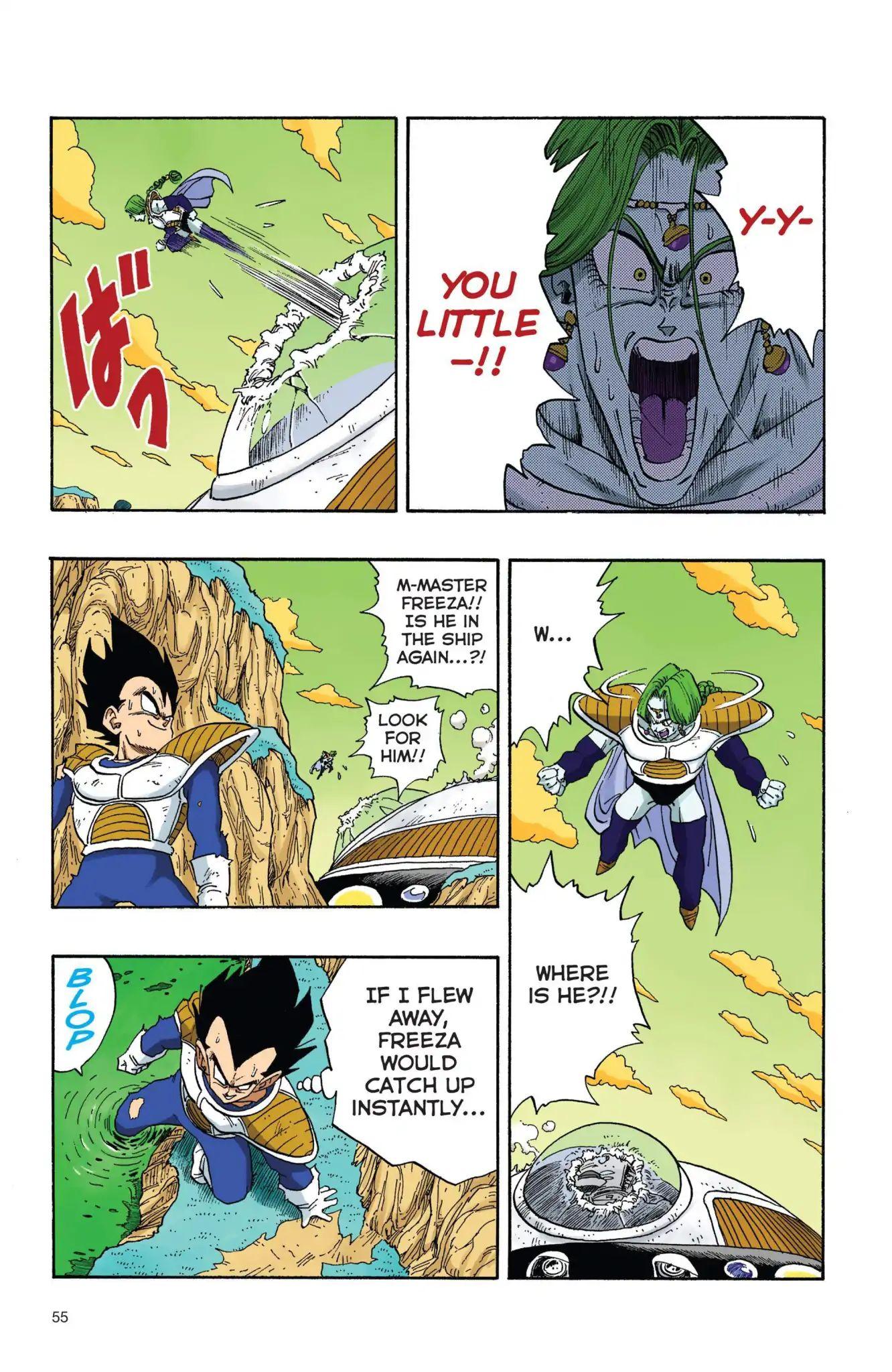 Dragon Ball Full Color Freeza Arc Chapter 21  Online Free Manga Read Image 10