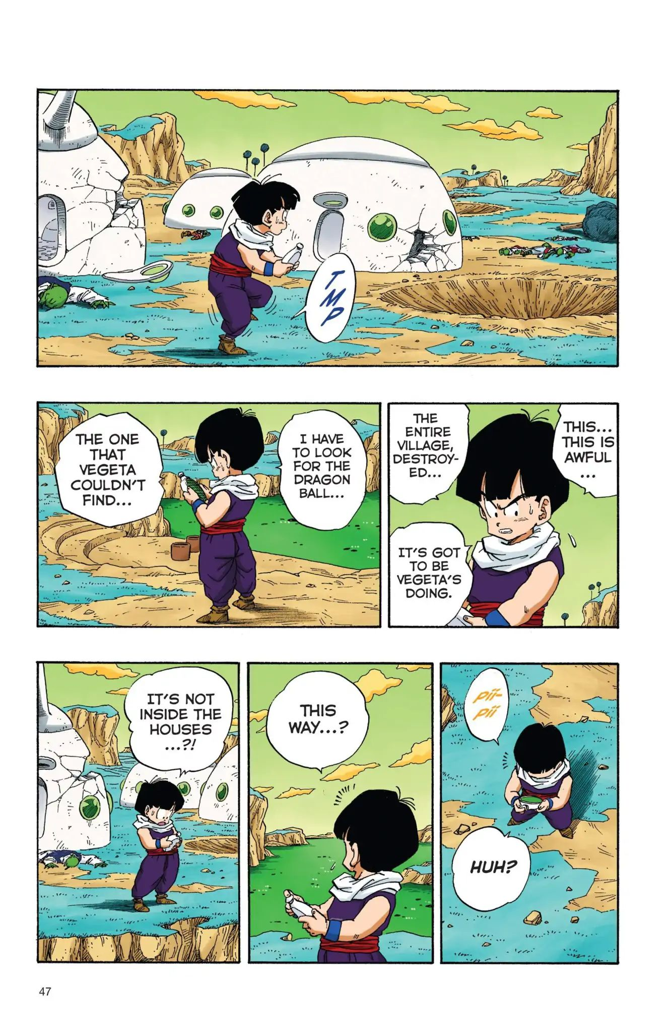 Dragon Ball Full Color Freeza Arc Chapter 21  Online Free Manga Read Image 2