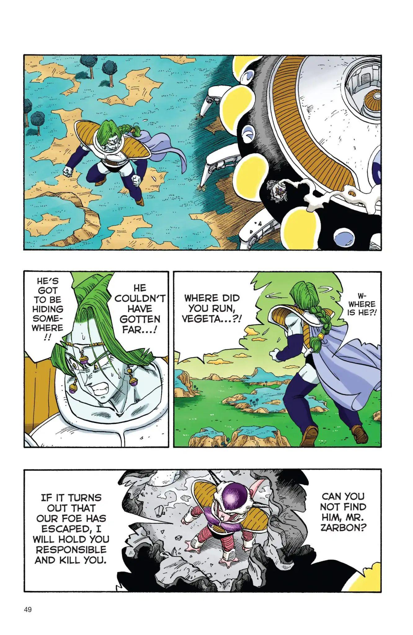 Dragon Ball Full Color Freeza Arc Chapter 21  Online Free Manga Read Image 4