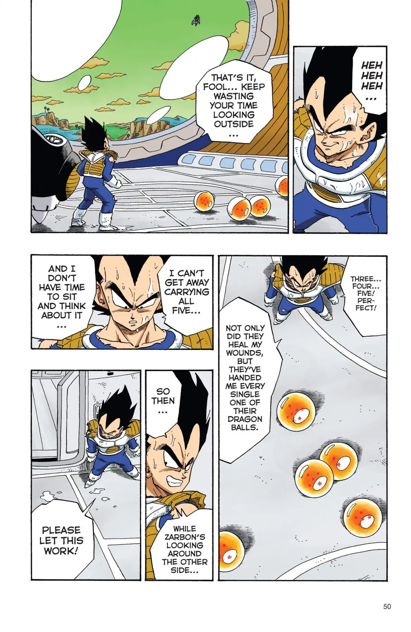 Dragon Ball Full Color Freeza Arc Chapter 21  Online Free Manga Read Image 5