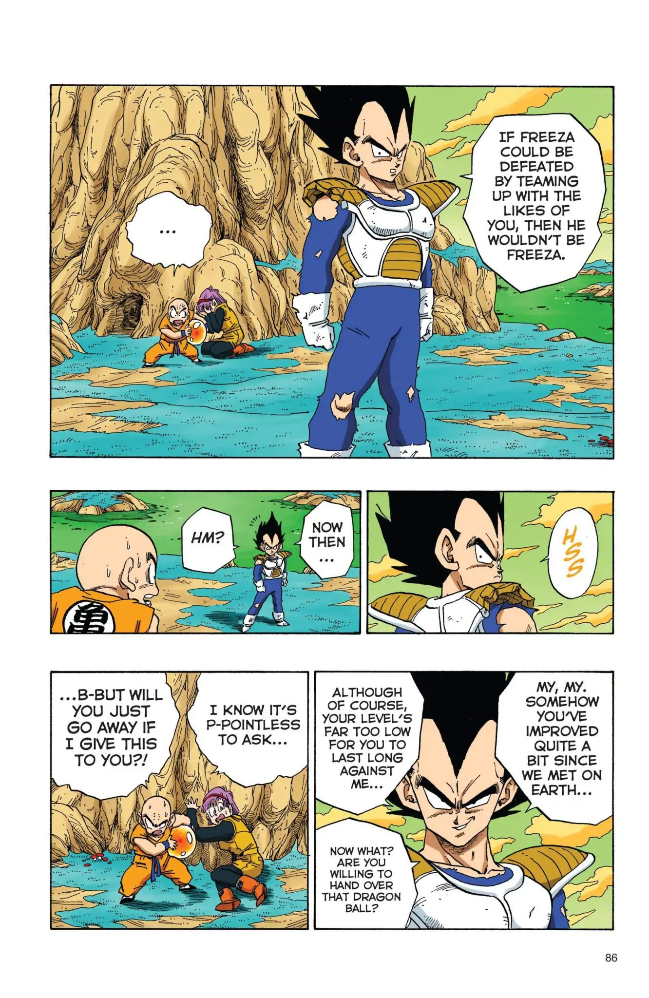 Dragon Ball Full Color Freeza Arc Chapter 23  Online Free Manga Read Image 13